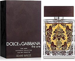 Dolce&Gabbana The One Baroque For Men - Туалетная вода — фото N1