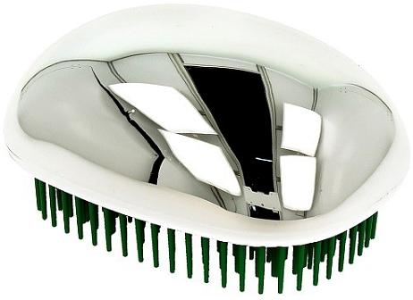 Щетка для волос, сияющая серебристая - Twish Spiky 3 Hair Brush Shining Silver