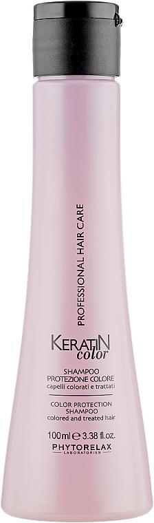 Шампунь для защиты цвета - Phytorelax Laboratories Keratin Color Protection Shampoo