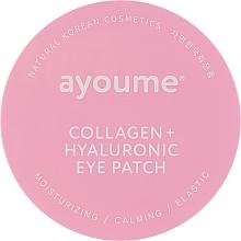 Духи, Парфюмерия, косметика Патчи под глаза с коллагеном и гиалуроновой кислотой - Ayoume Collagen + Hyaluronic Eye Patch