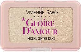 Парфумерія, косметика Палетка хайлайтерів - Vivienne Sabo Vs Gloire D'Amour