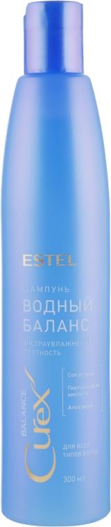 Шампунь для всех типов волос «Водный баланс» - Estel Professional Curex Balance Shampoo