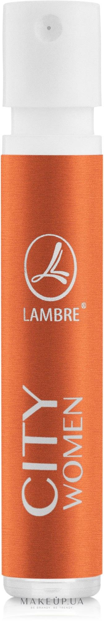 Lambre City - Парфюмированная вода (пробник) — фото 1.2ml