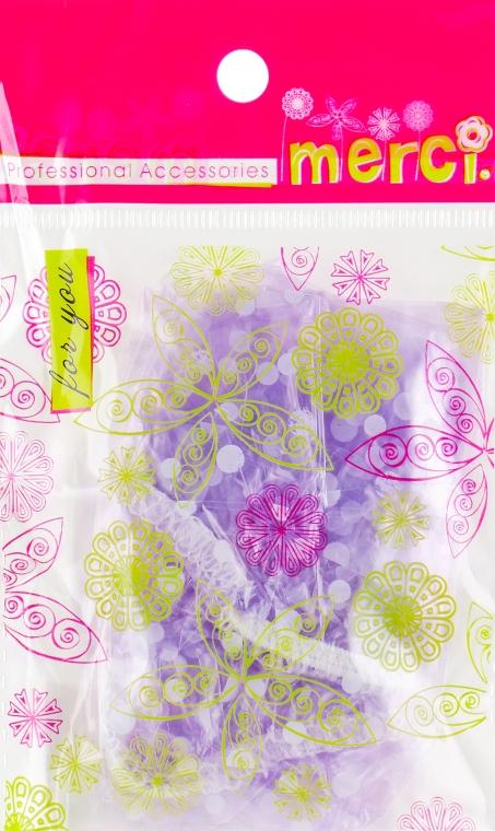 Шапочка для душа, MB2260, фиолетовая - Merci