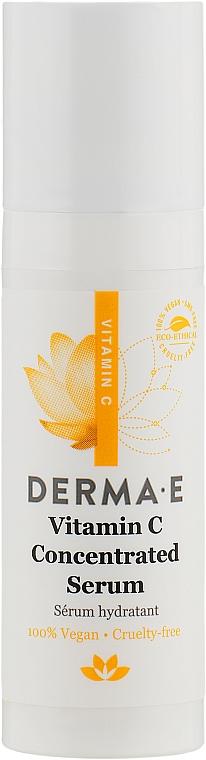 Концентрированная сыворотка с витамином С - Derma E Vitamin C Serum (мини)