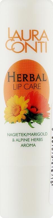 "Бальзам для губ ""Календула"" - Laura Conti Herbal Lip Balm"
