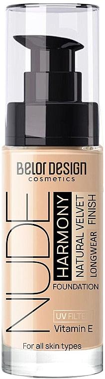 Тональный крем для лица - BelorDesign Nude Harmony UV Filter