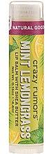 Духи, Парфюмерия, косметика Бальзам для губ - Crazy Rumors Peppermint Lemongrass Lip Balm