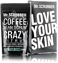 """Духи, Парфюмерия, косметика Кофейный скраб для лица и тела """"Цитрус"""" - Mr.Scrubber Crazy Citrus Scrub"""