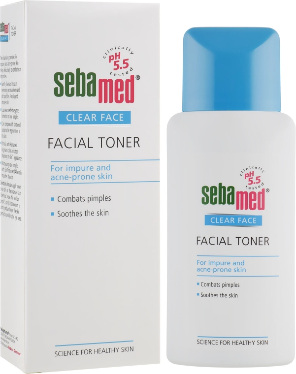 Очищающий тоник для лица - Sebamed Clear Face Deep Cleansing Facial Toner