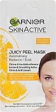 Духи, Парфюмерия, косметика Маска для лица с лимоном - Garnier SkinActive Juicy Mask