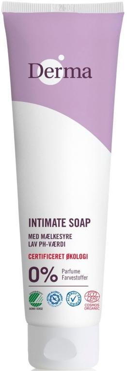 Мыло для интимной гигиены - Derma Eco Woman Intimate Wash Soap