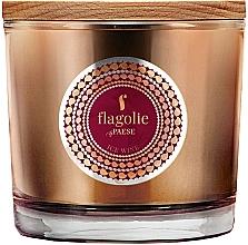 """Духи, Парфюмерия, косметика Ароматическая свеча в стакане """"Ледяное вино"""" - Flagolie Fragranced Candle Ice Wine"""