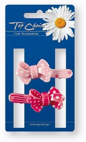 Заколки для волос, 24894, розовая и красная - Top Choice