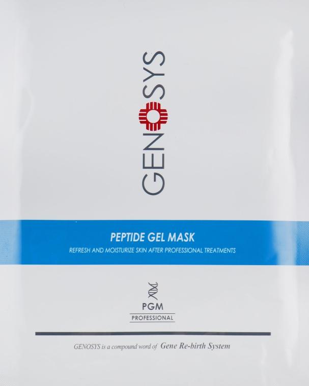 Пептидная гидрогелевая маска с успокаивающим и увлажняющим эффектом - Genosys Pepetide Gel Mask Kit