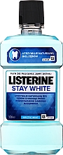 "Духи, Парфюмерия, косметика Ополаскиватель для полости рта ""Белизна зубов"" - Listerine Stay White"
