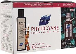 Духи, Парфюмерия, косметика Набор - Phyto Phytophanere (h/amp/12x7,5ml + capsules/120pcs + shm/250ml)