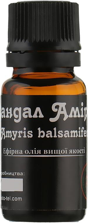 """Эфирное масло """"Сандал Амирис"""" - ЧистоТел"""