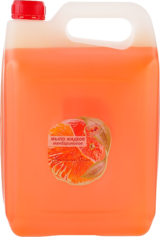 """Жидкое мыло """"Мандарин"""" - Вкусные Секреты (канистра)"""