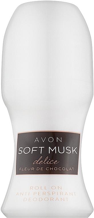 Avon Soft Musk Delice Fleur de Chocolate - Дезодорант