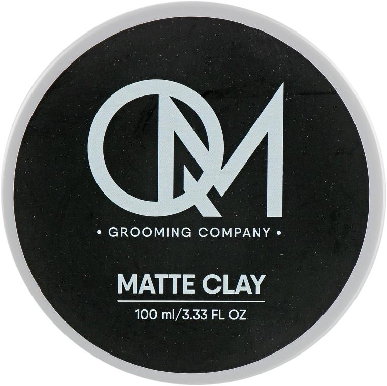Матовая глина для укладки волос - QM Matte Clay