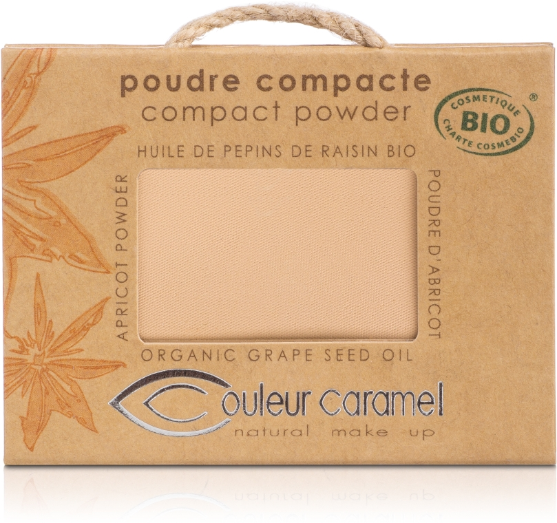 Компактная пудра - Couleur Caramel Poudre Compacte