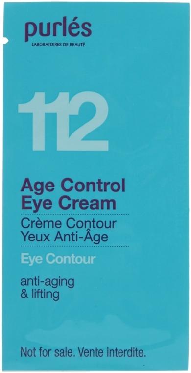 Крем для век - Purles 112 Age Control Eye Cream (пробник)
