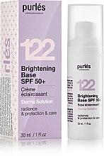 Духи, Парфюмерия, косметика Сияющая основа SPF 50+ с тонирующим эффектом - Purles Brightening Base SPF 50+
