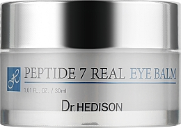 Парфумерія, косметика Коригувальний бальзам, 7 пептидів для зони навколо очей - Dr.Hedison Peptide 7 Real Eye Balm