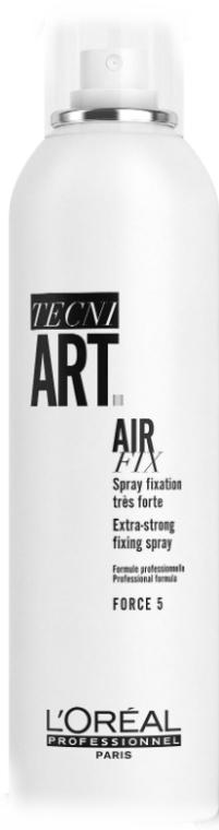 Лак для объема суперсильной фиксации - L'Oreal Professionnel Tecni.art Full Volume Extra — фото N3