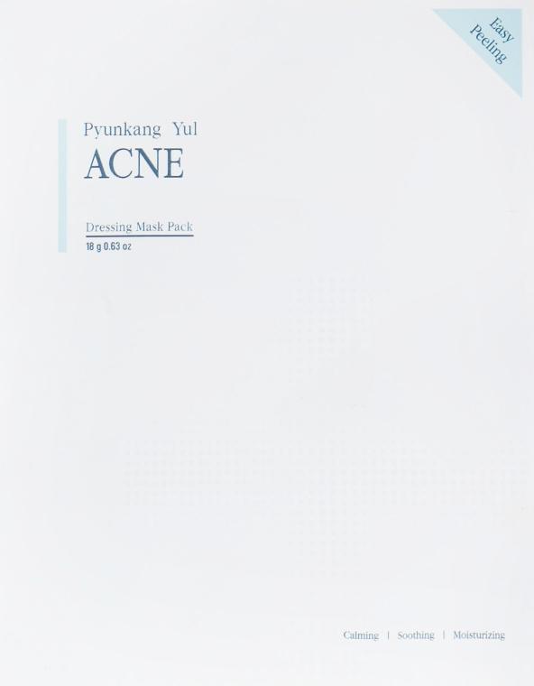 Маска профессиональная лечащая акне с экстрактом белой ивы - Pyunkang Yul Acne Dressing Mask Pack