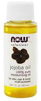 Масло жожоба - Now Foods Solutions Jojoba Oil