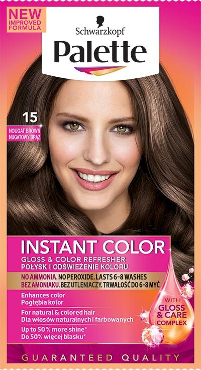 Оттеночный шампунь для волос без аммиака - Palette Instant Color