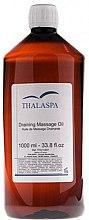 Духи, Парфюмерия, косметика Дренирующее массажное масло - Thalaspa Draining Massage Oil