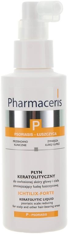 Кератолитическая жидкость для волосистых участков тела и головы с проявлениями псориаза - Pharmaceris P Puri-Ichtilium
