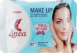 """Духи, Парфюмерия, косметика Влажные салфетки для снятия макияжа """"Make Up"""" - Linea"""