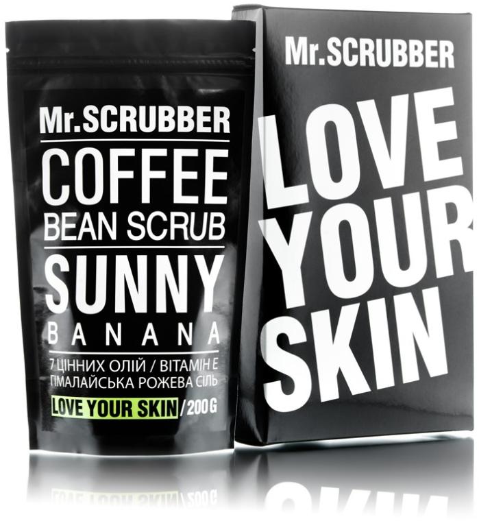 Кофейный скраб для тела - Mr.Scrubber Sunny Banana Scrub