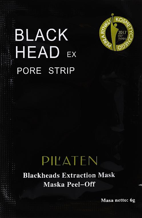 Маска от угрей - Pil'aten Hydra Suction Black Mask (пробник)