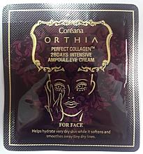 Духи, Парфюмерия, косметика Крем для глаз с коллагеном - Coreana Orthia Perfect Collagen 28 Days Intensive Ampoule Eye Cream (пробник)