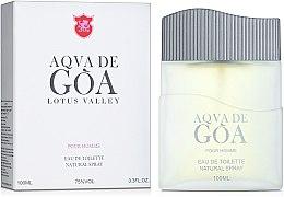 Духи, Парфюмерия, косметика Lotus Valley Aqva De Goa - Туалетная вода