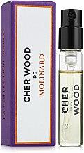 Духи, Парфюмерия, косметика Molinard Cher Wood - Парфюмированная вода (пробник)