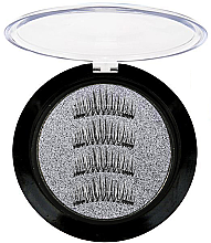 Духи, Парфюмерия, косметика Ресницы накладные с двумя магнитами - Divia Di944 DMC14