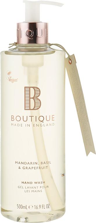"Жидкое мыло для рук ""Мандарин, базилик и грейпфрут"" - Grace Cole Boutique Hand Wash"
