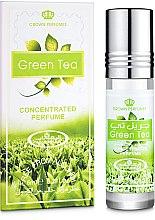 Духи, Парфюмерия, косметика Al Rehab Green Tea - Масляные духи (мини)