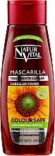 Духи, Парфюмерия, косметика Маска для сохранения цвета окрашенных волос - Natur Vital Coloursafe Henna Hair Mask Mahogony Hair