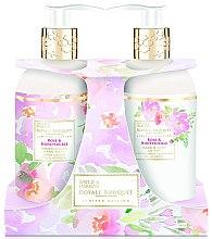 Парфумерія, косметика Набір - Baylis & Harding Royal Bouquet Rose & Honeysuckle (b/lot/300ml + soap/300ml)