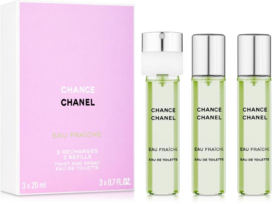 Chanel Chance Eau Fraiche - Туалетная вода (сменный блок)