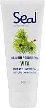 """Крем для рук и ног """"Хвоя"""" питательный - Seal Cosmetics Seal Vita Hand Foot Cream — фото N1"""