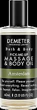 Духи, Парфюмерия, косметика Demeter Fragrance Amsterdam - Масло для тела и массажа
