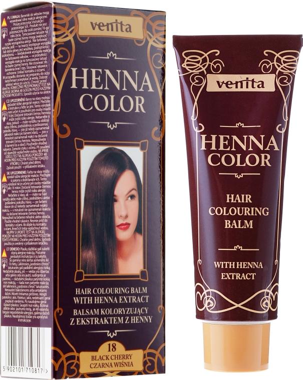Бальзам для волос с экстрактом хны - Venita Henna Color